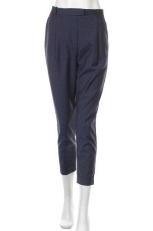Γυναικείο παντελόνι COS, Μέγεθος S, Χρώμα Μπλέ, Μαλλί, Τιμή 30,16€