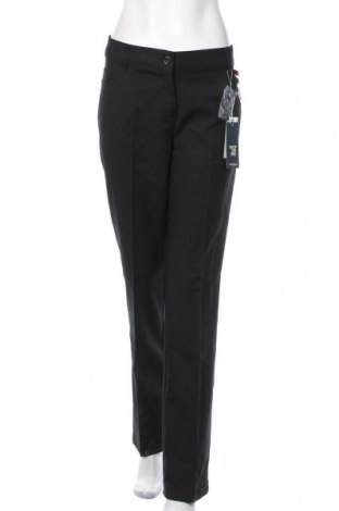 Γυναικείο παντελόνι Camomilla, Μέγεθος XXL, Χρώμα Μαύρο, 57% βαμβάκι, 40% πολυεστέρας, 3% ελαστάνη, Τιμή 9,18€