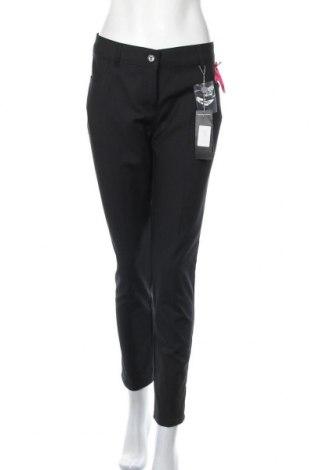 Дамски панталон Camomilla, Размер XL, Цвят Черен, 57% памук, 40% полиестер, 3% еластан, Цена 24,92лв.