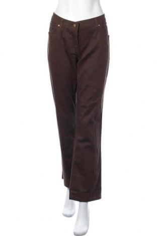 Дамски панталон Collection Chalice, Размер XL, Цвят Кафяв, 98% памук, 2% еластан, Цена 6,83лв.
