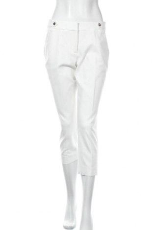 Γυναικείο παντελόνι Comma,, Μέγεθος M, Χρώμα Λευκό, 57% βαμβάκι, 40% πολυεστέρας, 3% ελαστάνη, Τιμή 25,34€