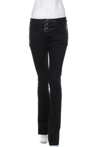 Дамски панталон Dolce & Gabbana, Размер S, Цвят Черен, 95% памук, 5% други тъкани, Цена 127,40лв.