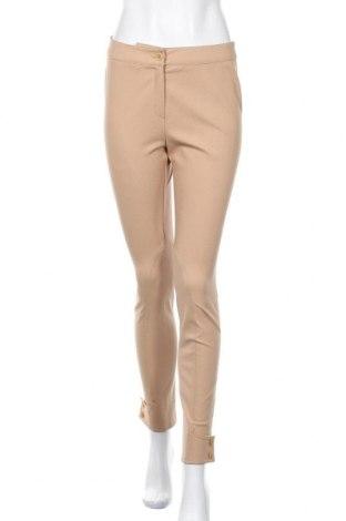 Дамски панталон Escada, Размер S, Цвят Бежов, 95% полиамид, 5% еластан, Цена 85,40лв.