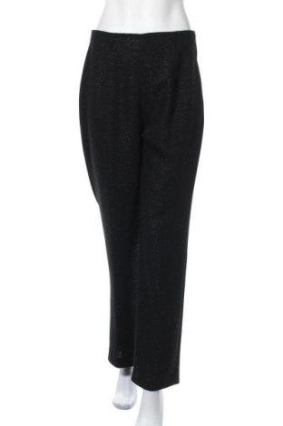 Γυναικείο παντελόνι Fabiani, Μέγεθος L, Χρώμα Μαύρο, 95% πολυεστέρας, 5% μεταλλικά νήματα, Τιμή 5,91€