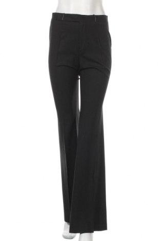 Дамски панталон Gucci, Размер S, Цвят Черен, 87% вълна, 8% еластан, 5% полиуретан, Цена 148,20лв.