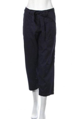 Дамски панталон H&M L.O.G.G., Размер L, Цвят Син, Памук, Цена 23,94лв.