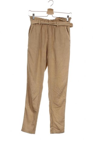 Дамски панталон H&M L.O.G.G., Размер S, Цвят Бежов, 70% вискоза, 30% лиосел, Цена 21,00лв.