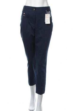 Дамски панталон Heine, Размер XL, Цвят Син, 60% памук, 35% модал, 5% еластан, Цена 40,02лв.