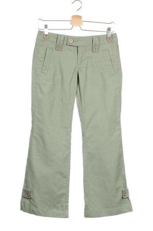 Γυναικείο παντελόνι Jacob, Μέγεθος S, Χρώμα Πράσινο, Βαμβάκι, Τιμή 5,98€