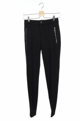 Дамски панталон Luhta, Размер XS, Цвят Черен, 70% полиестер, 27% вискоза, 3% еластан, Цена 68,02лв.