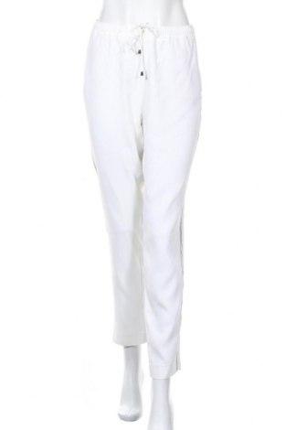 Дамски панталон Madeleine, Размер L, Цвят Бял, 76% ацетат, 21% вискоза, 3% еластан, Цена 36,00лв.