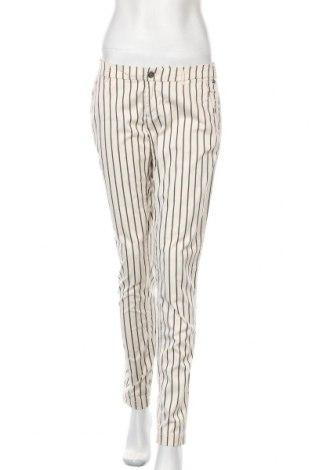 Γυναικείο παντελόνι Maison Scotch, Μέγεθος M, Χρώμα Εκρού, 97% βαμβάκι, 3% ελαστάνη, Τιμή 18,71€