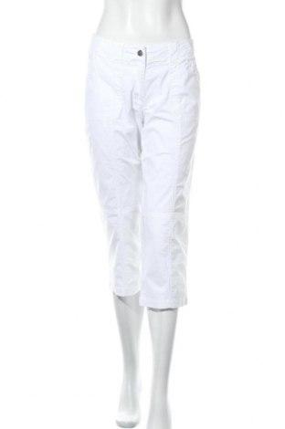 Дамски панталон Navigazione, Размер L, Цвят Бял, 97% памук, 3% еластан, Цена 23,52лв.