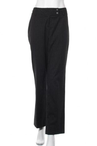 Γυναικείο παντελόνι One Touch, Μέγεθος M, Χρώμα Μαύρο, 63% πολυεστέρας, 34% βισκόζη, 3% ελαστάνη, Τιμή 9,42€