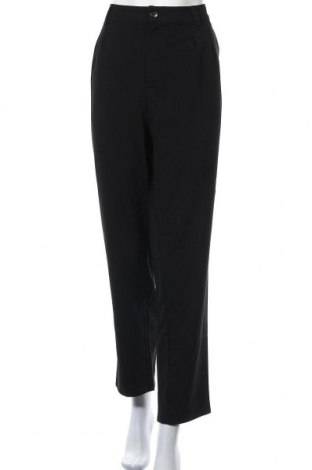 Дамски панталон Only Carmakoma, Размер XL, Цвят Черен, 63% полиестер, 33% вискоза, 4% еластан, Цена 32,68лв.