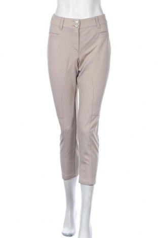 Дамски панталон Orwell, Размер L, Цвят Бежов, Полиестер, еластан, Цена 27,30лв.