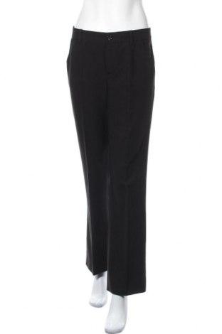 Дамски панталон Oui, Размер S, Цвят Черен, 75% полиестер, 20% вискоза, 5% еластан, Цена 37,80лв.