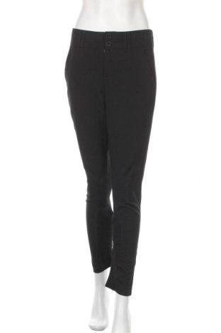 Дамски панталон Oui, Размер S, Цвят Черен, 68% полиестер, 29% вискоза, 3% еластан, Цена 28,50лв.