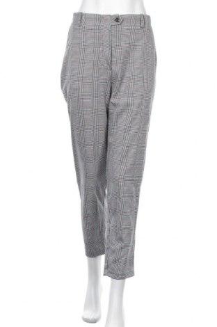 Γυναικείο παντελόνι Pull&Bear, Μέγεθος L, Χρώμα Πολύχρωμο, 64% πολυεστέρας, 35% βισκόζη, 1% ελαστάνη, Τιμή 14,60€