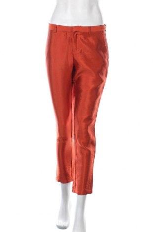 Дамски панталон Scotch & Soda, Размер S, Цвят Оранжев, 52% вискоза, 33% полиестер, 15% полиамид, Цена 56,70лв.