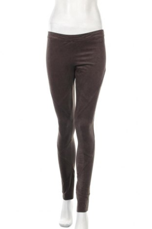 Дамски панталон Silvian Heach, Размер M, Цвят Кафяв, 92% полиестер, 8% еластан, Цена 23,85лв.
