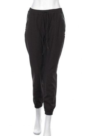 Дамски панталон Trussardi Jeans, Размер L, Цвят Черен, 65% полиестер, 31% вискоза, 4% еластан, Цена 101,40лв.