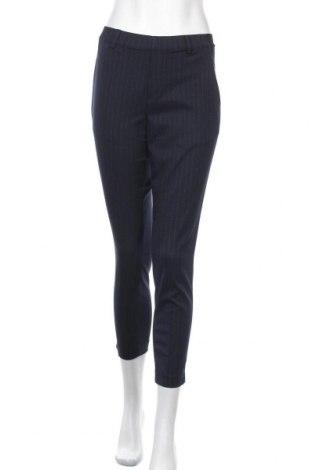 Дамски панталон Uniqlo, Размер S, Цвят Син, 68% полиестер, 30% вискоза, 2% еластан, Цена 10,40лв.