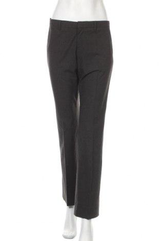 Дамски панталон Uniqlo, Размер M, Цвят Сив, 47% полиестер, 47% вискоза, 6% еластан, Цена 19,60лв.