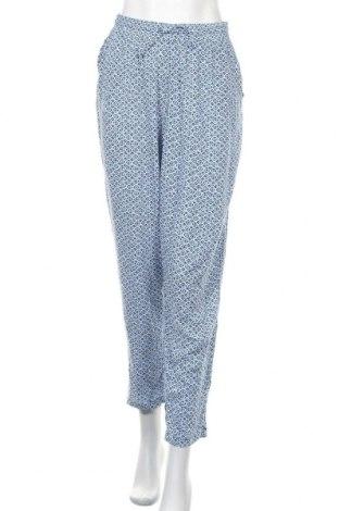 Дамски панталон Up 2 Fashion, Размер L, Цвят Син, Вискоза, Цена 24,15лв.