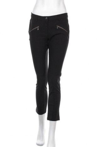 Дамски панталон Up 2 Fashion, Размер M, Цвят Черен, 77% вискоза, 20% полиамид, 3% еластан, Цена 19,85лв.