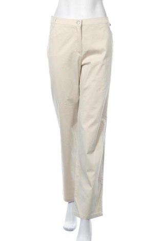 Дамски панталон Walbusch, Размер XXL, Цвят Бежов, 97% памук, 3% еластан, Цена 27,93лв.