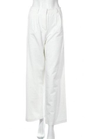 Дамски панталон Y.A.S, Размер S, Цвят Бял, 82% полиестер, 14% вискоза, 4% еластан, Цена 42,72лв.