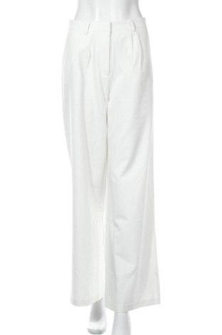 Дамски панталон Y.A.S, Размер M, Цвят Бял, 82% полиестер, 14% вискоза, 4% еластан, Цена 47,52лв.