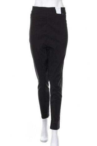 Дамски панталон Yours, Размер XXL, Цвят Черен, 75% вискоза, 22% полиамид, 3% еластан, Цена 37,80лв.