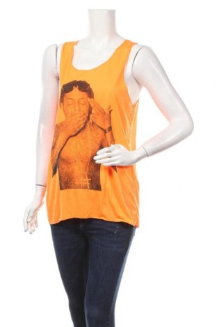 Дамски потник, Размер L, Цвят Оранжев, 65% полиестер, 35% памук, Цена 4,20лв.