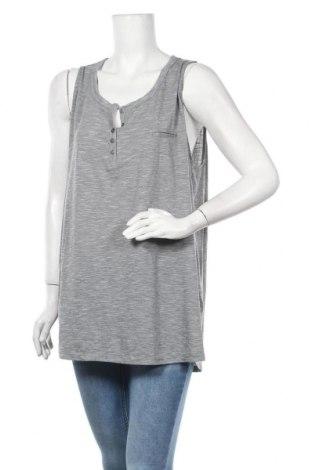 Γυναικείο αμάνικο μπλουζάκι Avella, Μέγεθος XXL, Χρώμα Γκρί, Πολυεστέρας, βισκόζη, Τιμή 5,00€