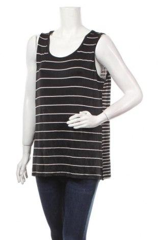 Γυναικείο αμάνικο μπλουζάκι Escape, Μέγεθος XL, Χρώμα Μαύρο, 93% πολυεστέρας, 7% ελαστάνη, Τιμή 2,92€