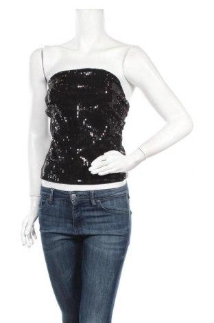 Дамски потник H&M Divided, Размер M, Цвят Черен, 95% памук, 5% еластан, Цена 4,41лв.