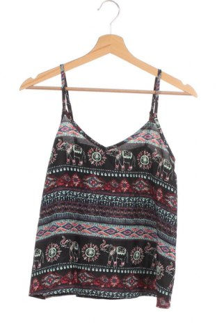 Γυναικείο αμάνικο μπλουζάκι Hollister, Μέγεθος XS, Χρώμα Πολύχρωμο, Πολυεστέρας, Τιμή 7,18€