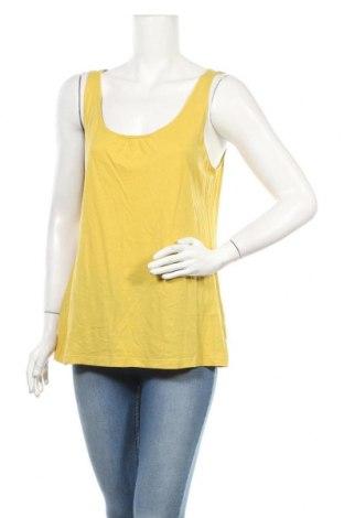 Дамски потник J.Jill, Размер M, Цвят Жълт, 60% памук, 40% модал, Цена 6,72лв.