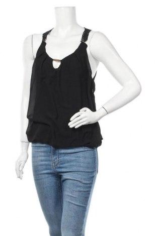 Γυναικείο αμάνικο μπλουζάκι Madonna, Μέγεθος M, Χρώμα Μαύρο, 100% πολυεστέρας, Τιμή 3,41€