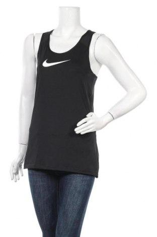 Дамски потник Nike, Размер L, Цвят Черен, 84% полиестер, 16% еластан, Цена 22,05лв.