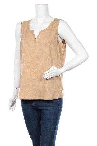 Γυναικείο αμάνικο μπλουζάκι Piping Hot, Μέγεθος XL, Χρώμα  Μπέζ, Βαμβάκι, πολυεστέρας, ελαστάνη, Τιμή 3,41€