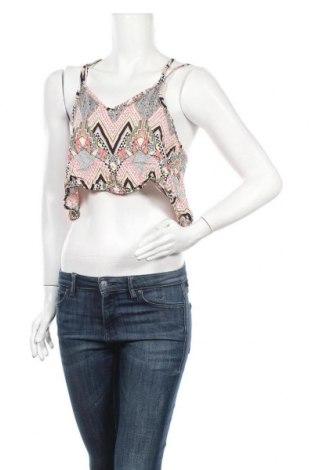 Γυναικείο αμάνικο μπλουζάκι Vert De Rage, Μέγεθος M, Χρώμα Πολύχρωμο, Βισκόζη, Τιμή 5,49€