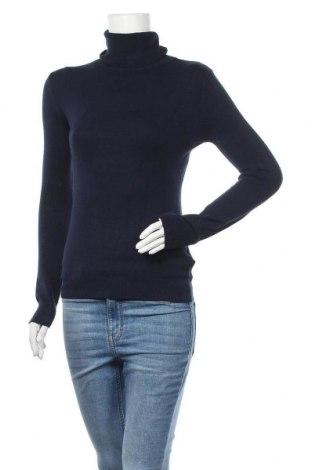 Дамски пуловер Anna Ellis, Размер S, Цвят Син, 60% вискоза, 20% вълна, 10% кашмир, 10% еластан, Цена 48,95лв.