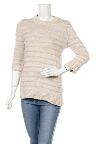 Дамски пуловер COS, Размер S, Цвят Бежов, 80% вълна, 20% кашмир, Цена 31,20лв.