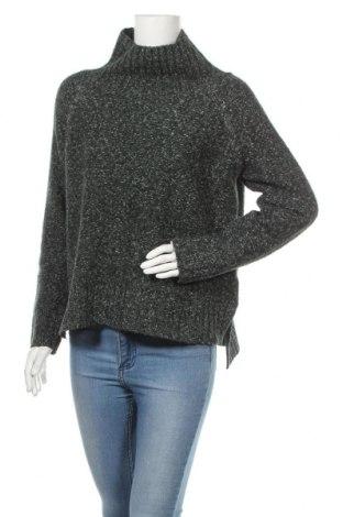 Дамски пуловер H&M, Размер XS, Цвят Зелен, 58% акрил, 22% памук, 12% полиамид, 7% полиестер, 1% еластан, Цена 24,00лв.