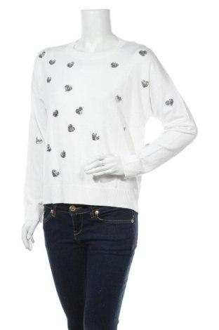 Дамски пуловер Heine, Размер S, Цвят Бял, 70% вискоза, 30% полиамид, Цена 40,70лв.