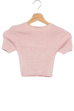 Дамски пуловер Jennyfer, Размер XS, Цвят Розов, 65% вискоза, 14% полиестер, 13% полиамид, 8% метални нишки, Цена 31,28лв.