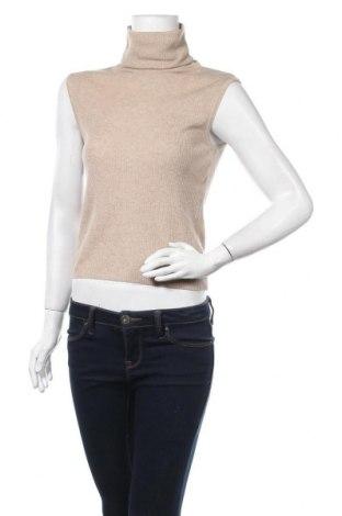 Дамски пуловер Mango, Размер S, Цвят Бежов, 55% полиестер, 20% акрил, 20% полиамид, 5% вълна, Цена 33,60лв.